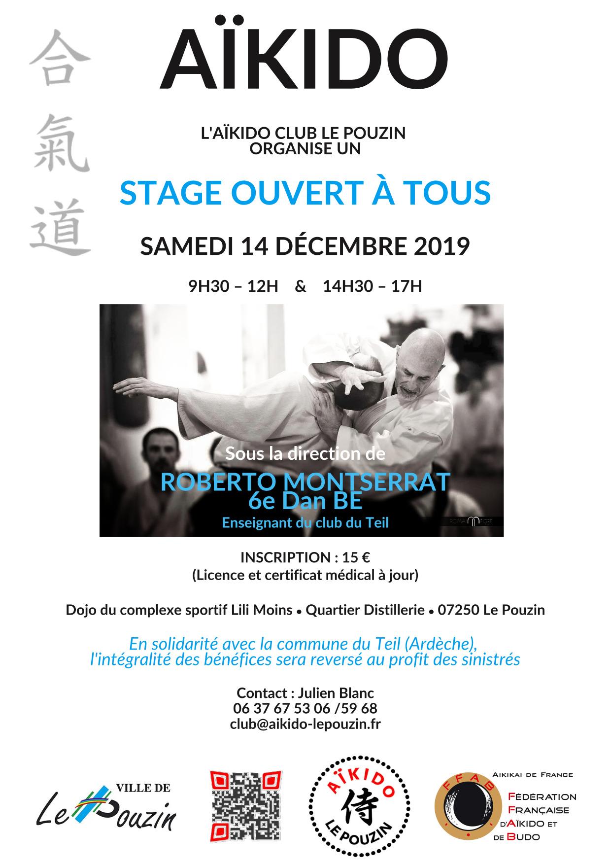 Affiche stage Roberto Le Pouzin 191214
