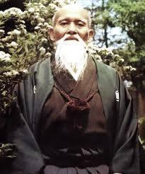 Morihei Ueshiba, O Senseï